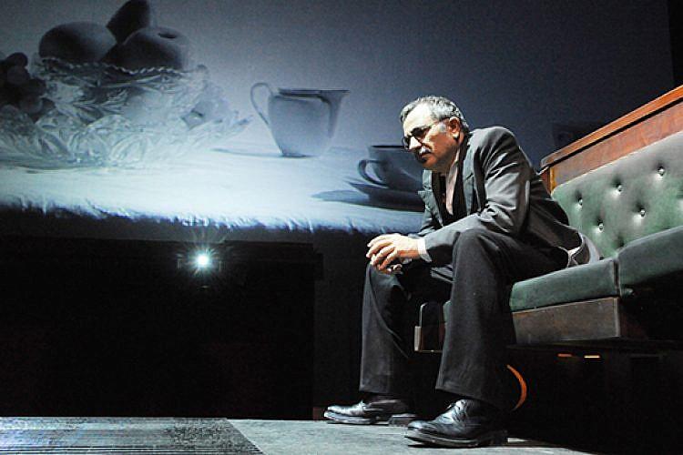 משה איבגי, מתוך סונטת קרויצר בתיאטרון גשר (צילום: גדי דגון)