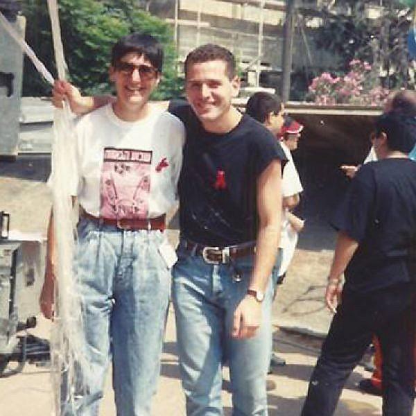 אירוע הגאווה בשינקין 1993 (צילום: אריאל לוי)