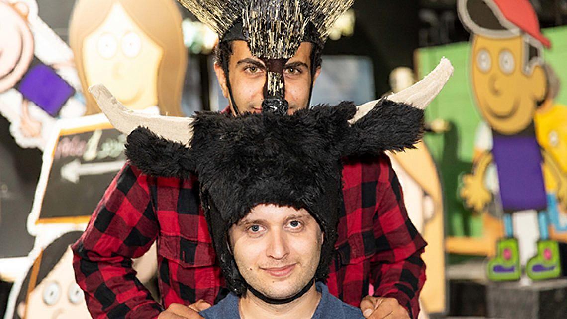 ג'לאל מסארווה ותום ווליניץ (צילום: דין אהרוני רולנד)
