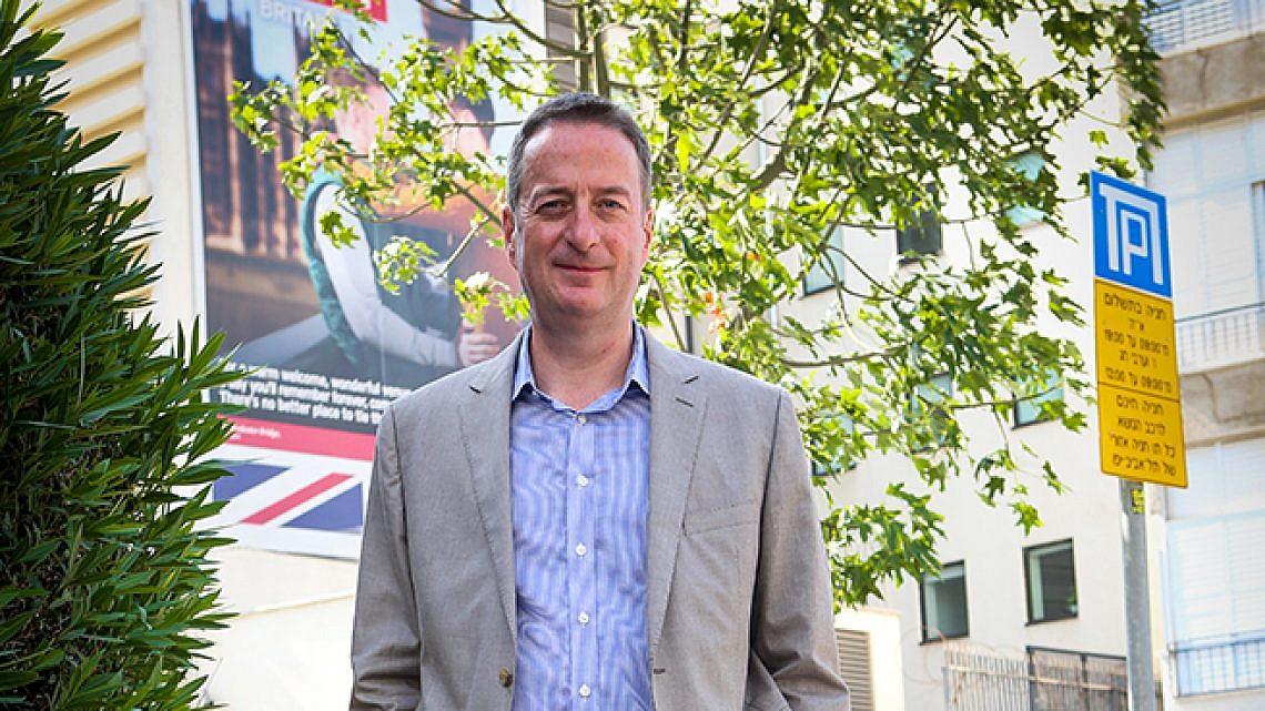 דיוויד קוורי, שגריר בריטניה בישראל (צילום: שלומי יוסף)