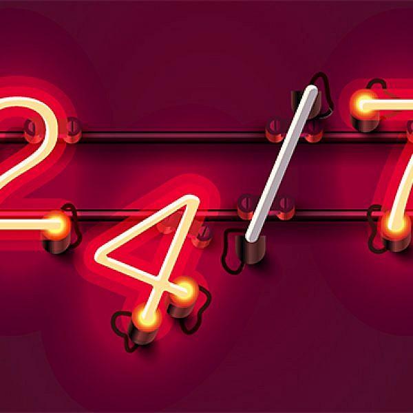 24/7? צילום: shutterstock