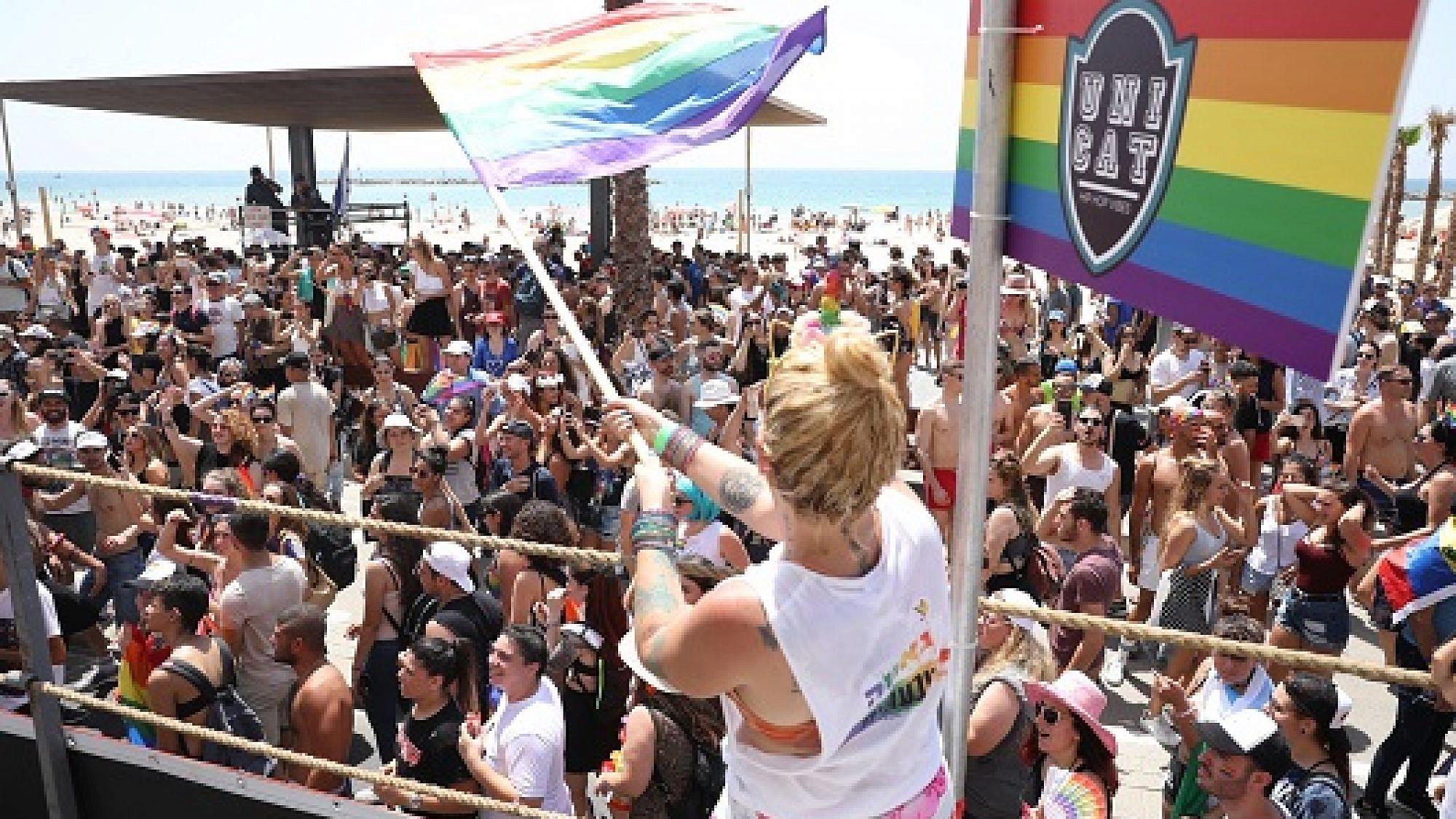 מצעד הגאווה 2018 (צילום: דין אהרוני)