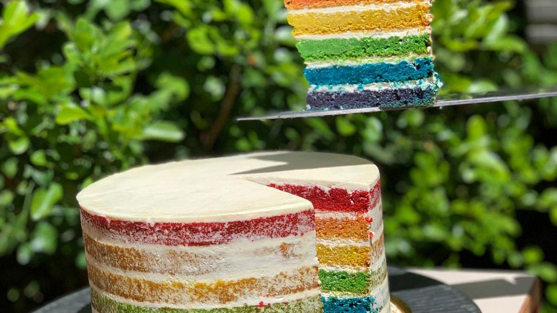 העוגה המוטרפת של איטס. צילום: סתיו כץ
