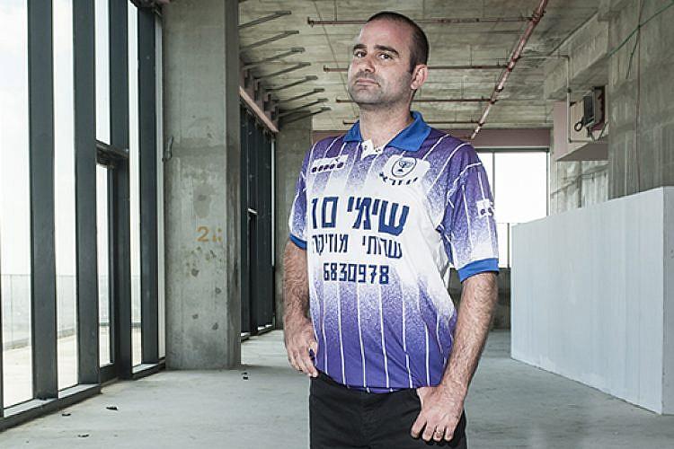 גד סלנר, ממקימי כדורגל שפל (צילום: איליה מלניקוב)