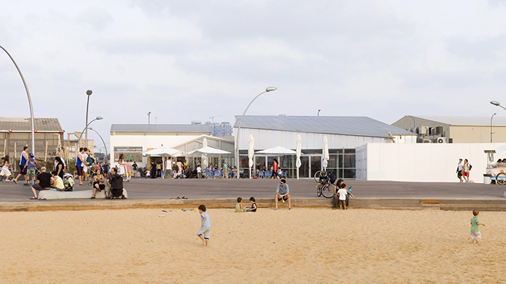 """נמל תל אביב מתכונן לקיץ. צילום: יח""""צ"""