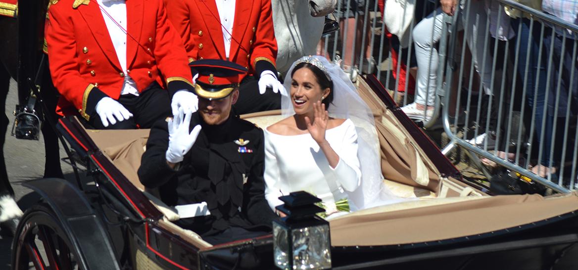 היו ימים. מייגן והארי מתחתנים (צילום: שאטרסטוק)