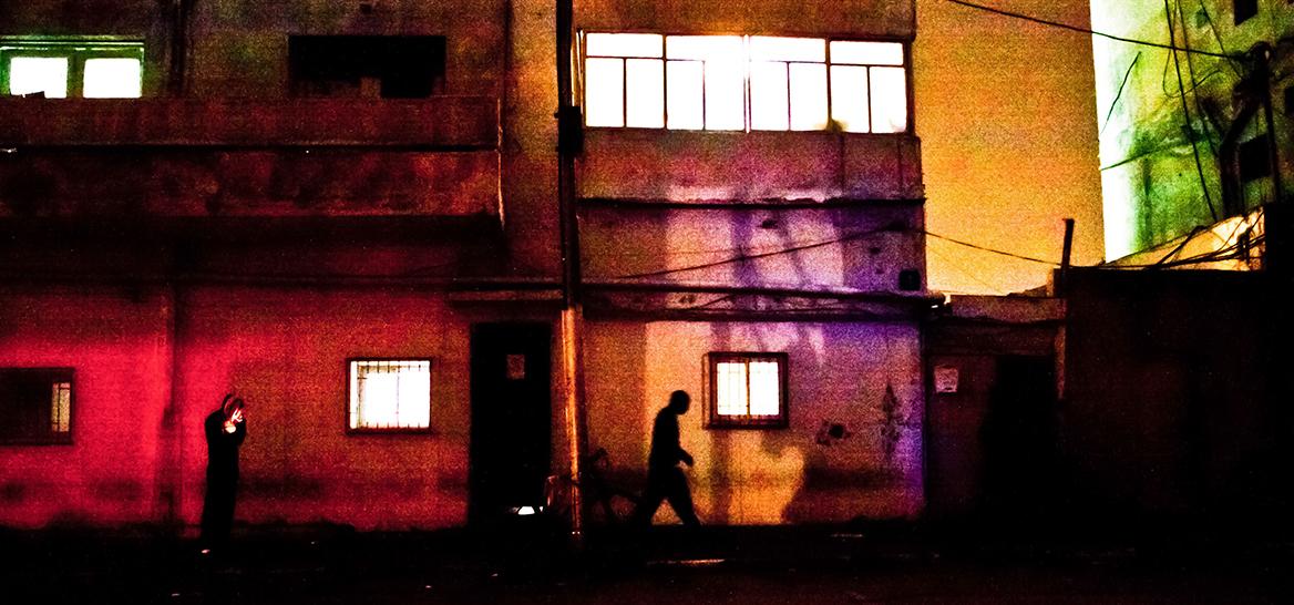 תל אביב של מטה. נווה שאנן בלילה (צילום: GettyImages)