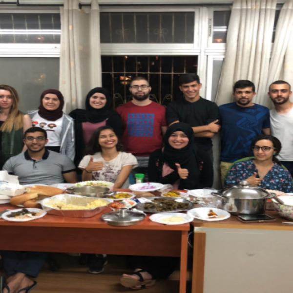 רמדאן בבמעונות הסטודנטים של אוניברסיטת תל אביב. צילום: פאטמה עמר ח'מאייסי