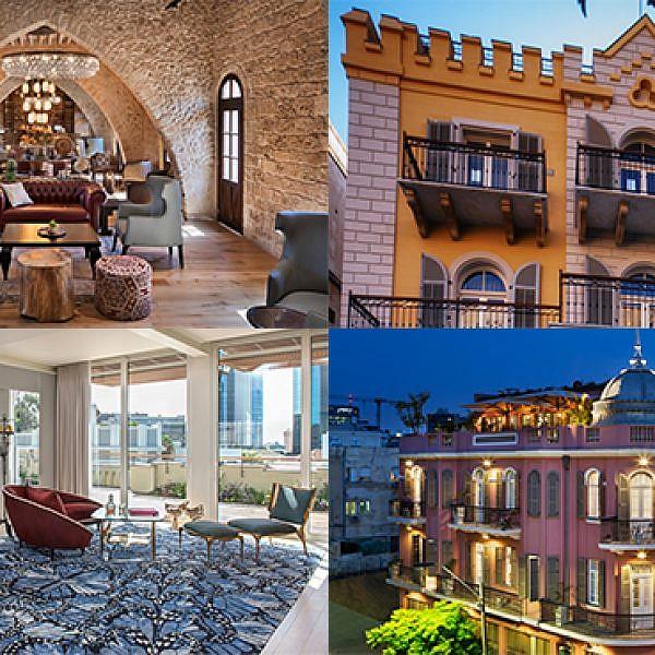 המלונות הכי יפים בתל אביב