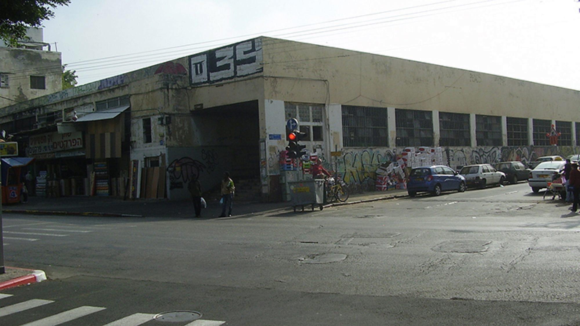 שוק העליה הישן לפני הקמת הפרויקט (צילום: Avi1111)