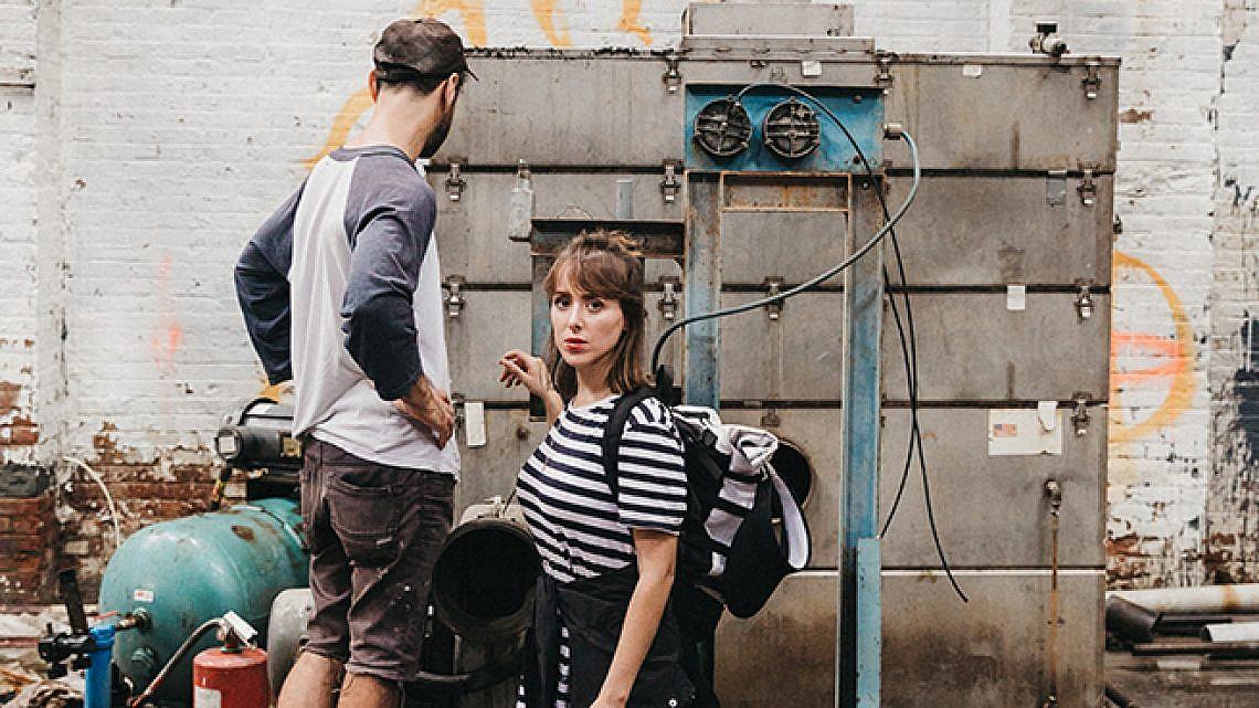 הפאוור קאפל של אמנות הרחוב הישראלית - ניצן מינץ ודדה (צילום: לירון אראל)