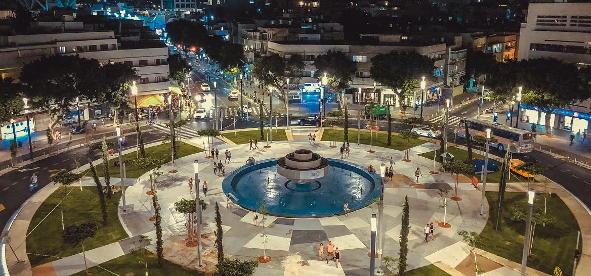 כיכר דיזנגוף (צילום: Joel Goldberg)