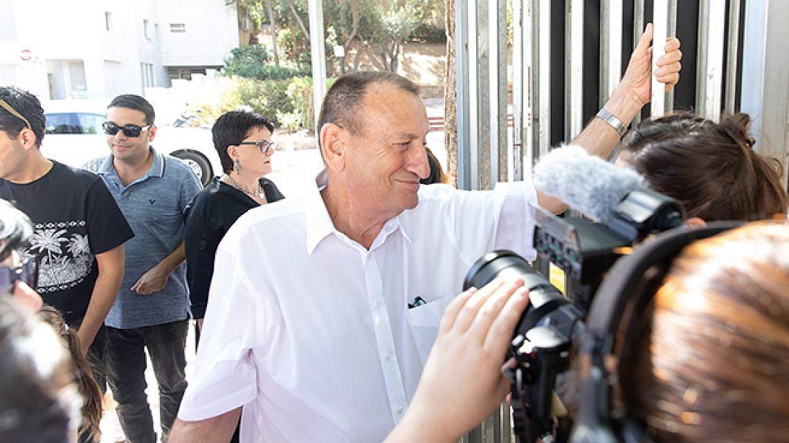 רון חולדאי, ראש העיר, שוב (צילום: דין אהרוני רולנד)