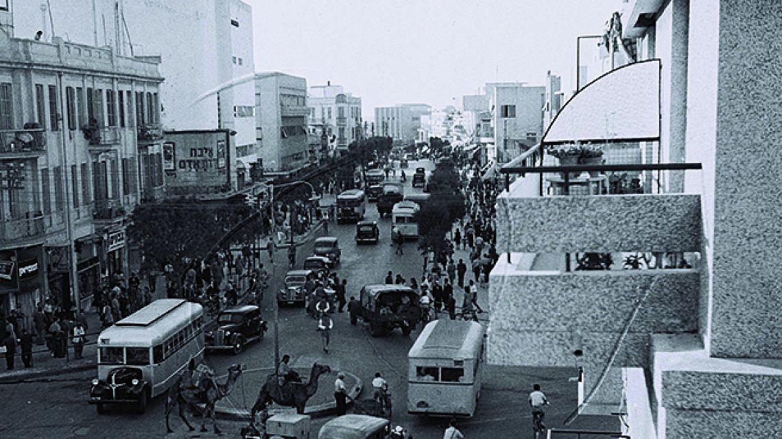 """רחוב אלנבי (צילום: לע""""מ)"""