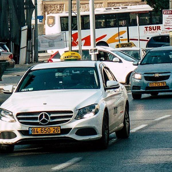 מונית בתל אביב, תמיד הרפתקה (צילום: Shutterstock)