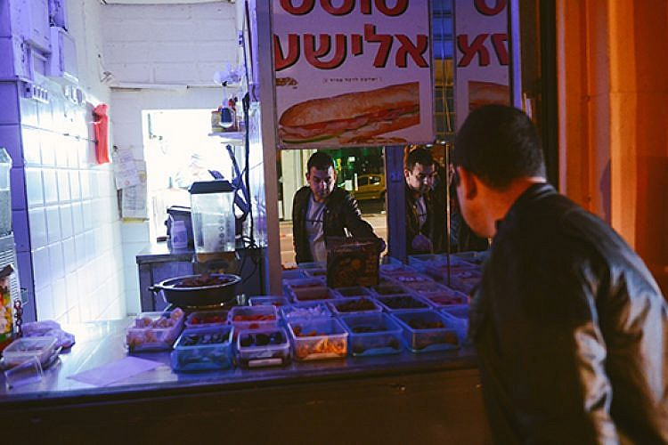 עדי סמריאס בטוסט אלישע. צילום: גוני ריסקין