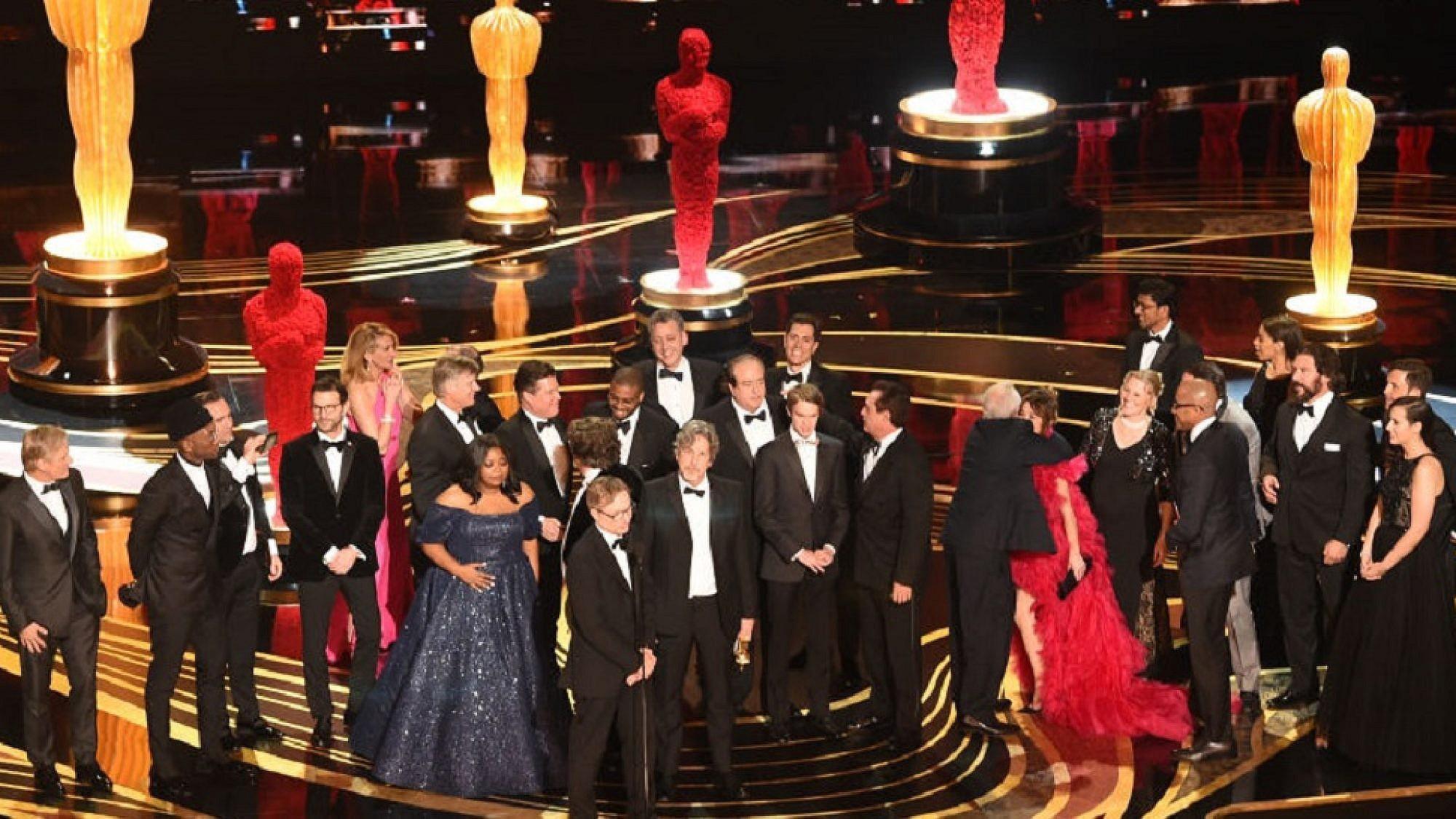 """""""הספר הירוק"""" זוכה בפרס האוסקר 2019 (צילום: Getty Images)"""