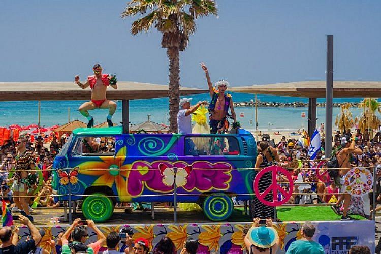 מצעד הגאווה בתל אביב (צילום: Shutterstock)