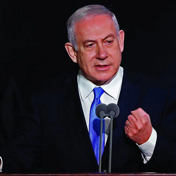 המאחד הגדול של השמאל. בנימין נתניהו (צילום: ז'ק גואז Getty Images)