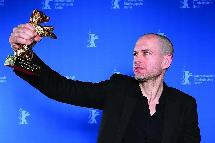 נדב לפיד זוכה בפסטיבל ברלין, פברואר 2019 (צילום: כריסטוף סודר\גטי אימג'ס)