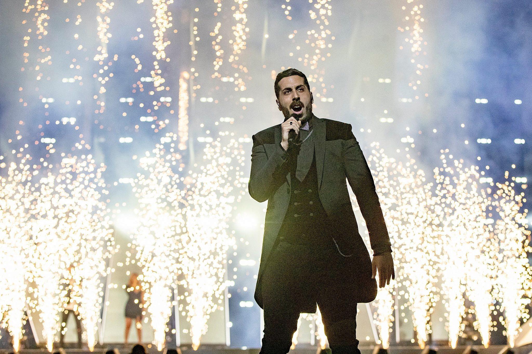 זה שפחות הצליח. קובי מרימי באירוויזיון 2019 (צילום: EBU/Andres Putting)
