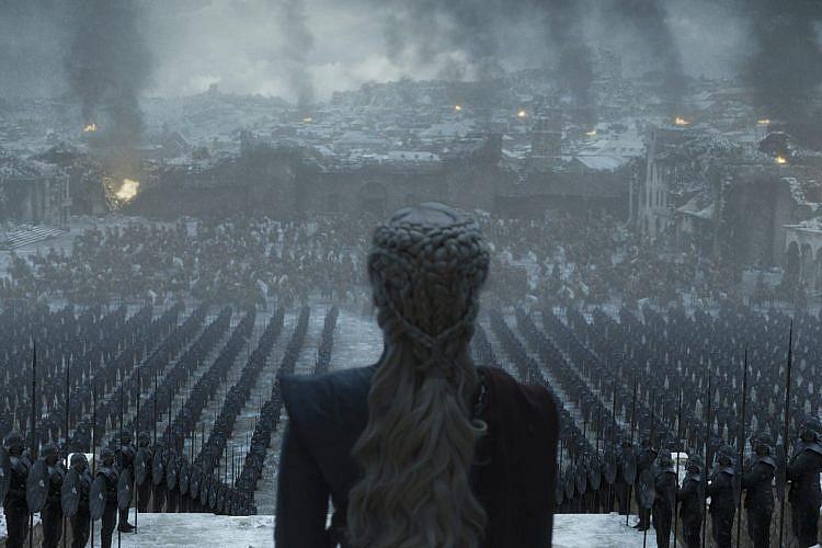 משחקי הכס 8, פרק 6(צילום: Helen Sloan/HBO)