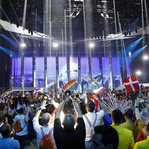 גמר האירוויזיון במתחם אקספו. זוכרים שזה קרה פה? צילום: EBU