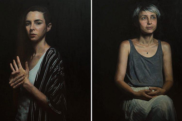 מזל שהציור הריאליסטי חזר לאופנה (עבודות: מארק גלזין)