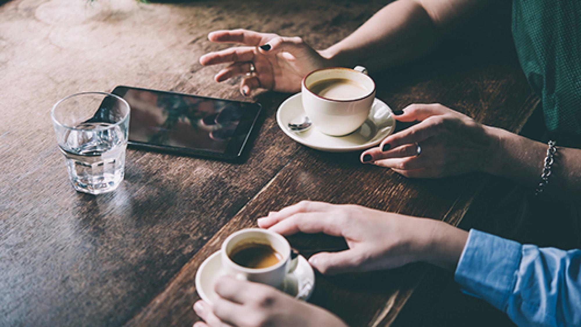 הקפה של היום. צילום: שאטרסטוק