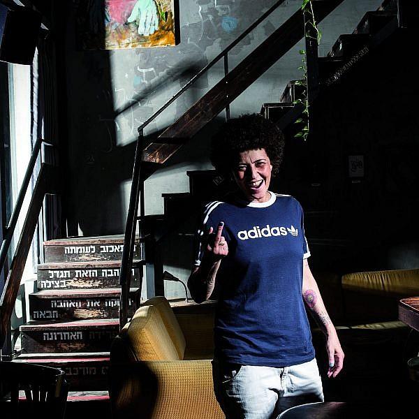 אריאלה לאנדה בבית אריאלה (צילום: איליה מלניקוב)