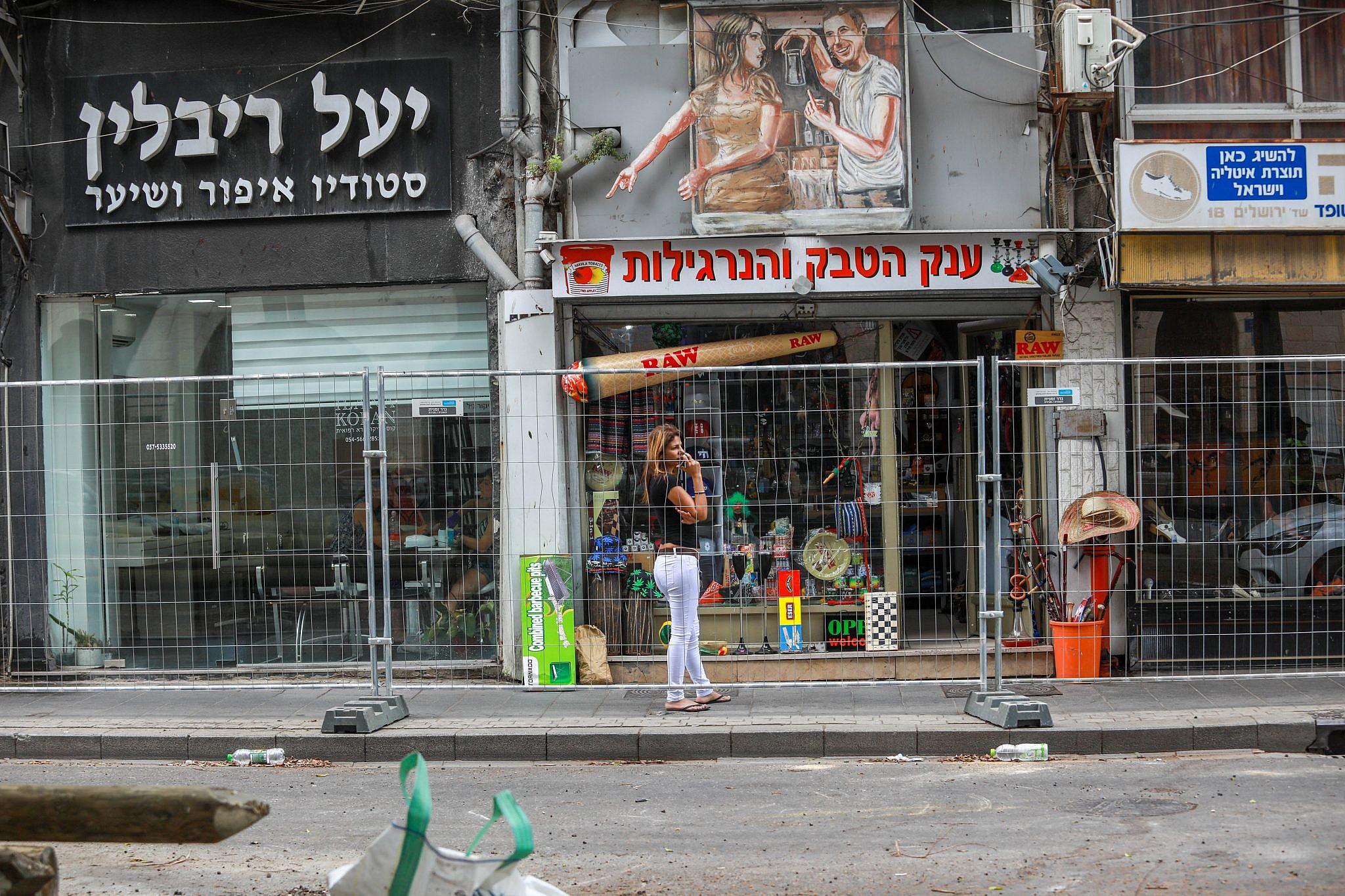 מתי היפואית מגיעה? אין לדעת. שדרות ירושלים (צילום: שלומי יוסף)