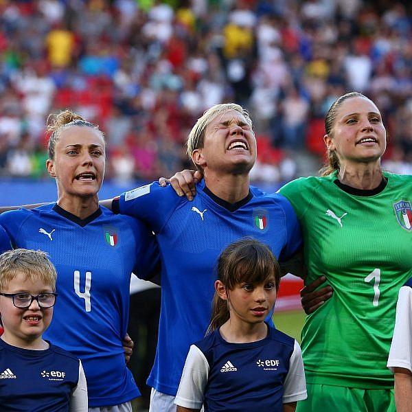 מקסימום אסטרטגיה. נבחרת איטליה במונדיאל הנשים (צילום: GettyImages)