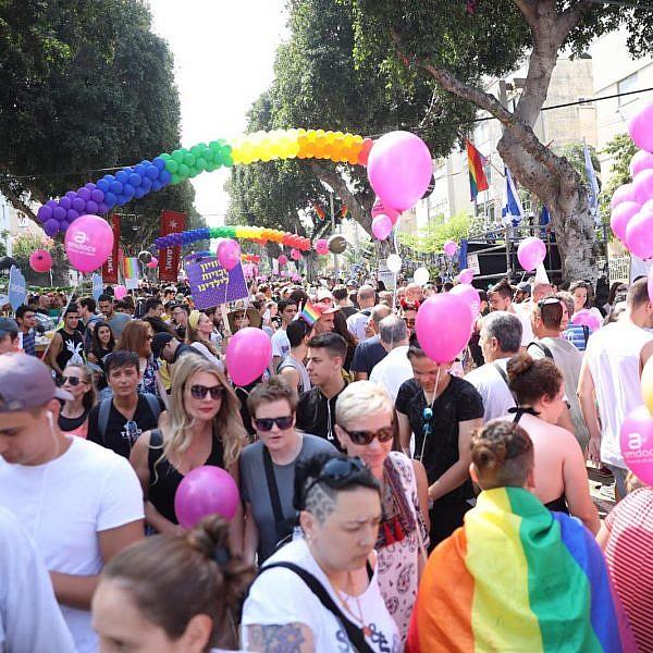 מצעד הגאווה 2019 (צילום: דין אהרוני רולנד)