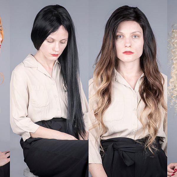 אלונה פלוסקי עם פאה של טרסים בוטיק שיער. צילום: איליה מלניקוב