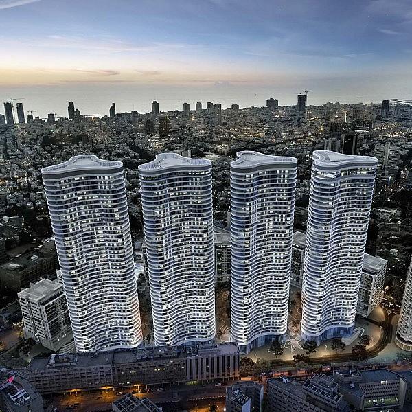 הדמיית פרויקט גינדי. באדיבות עיריית תל אביב יפו