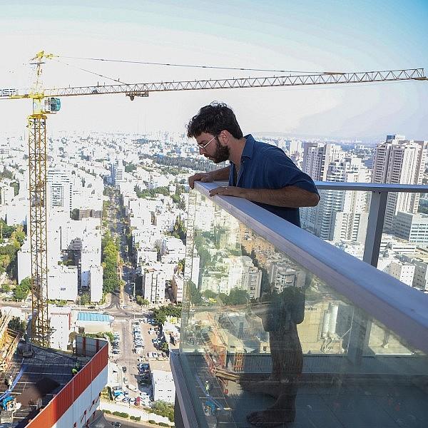ירמי שיק בלום במידטאון (צילום: שלומי יוסף)