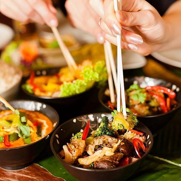 אוכל תיאלנדי (צילום: שאטרסטוק)