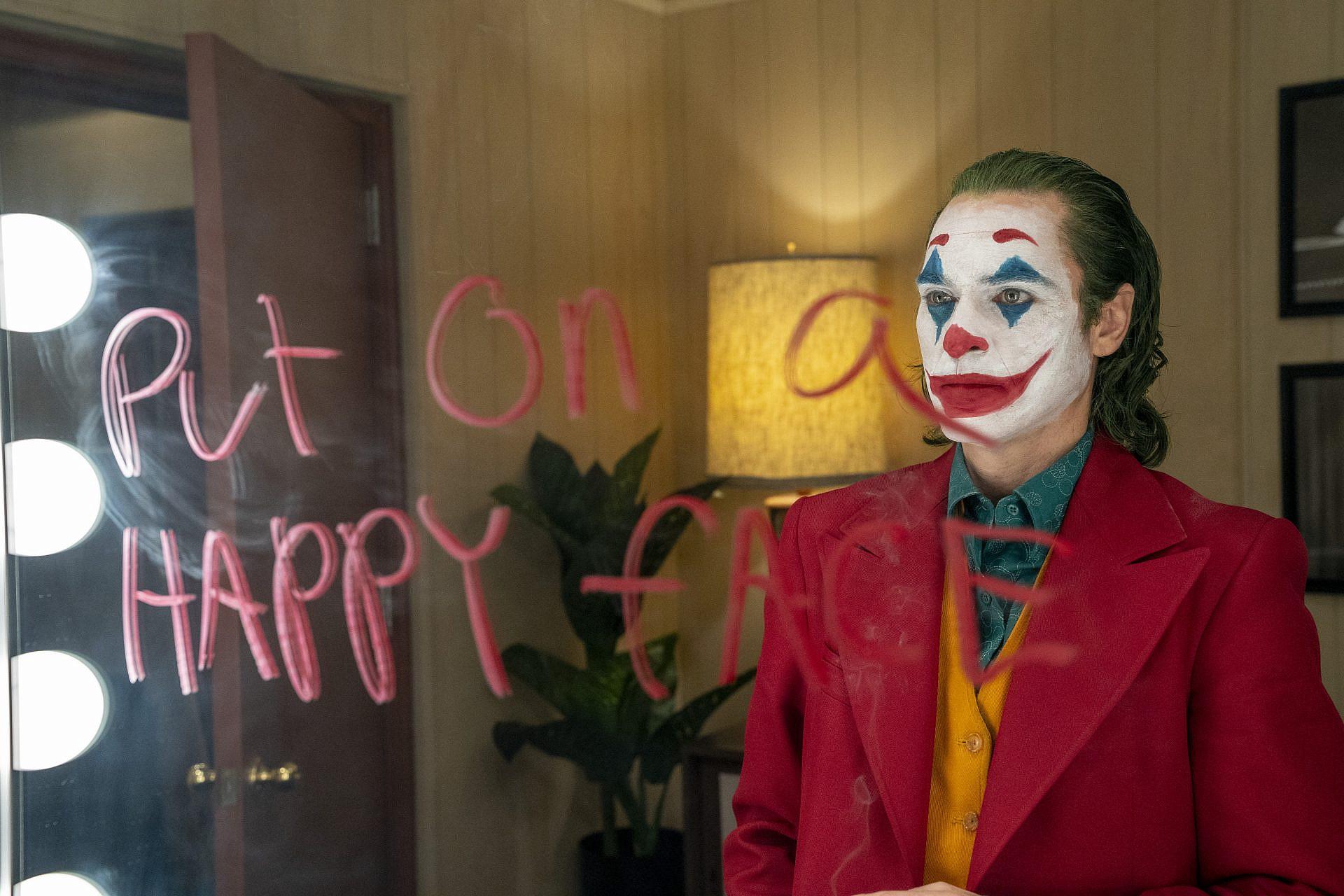 """הצחוק הוא תוצאה של טראומה. חואקין פיניקס ב""""ג'וקר"""" (צילום: באדיבות טוליפ אינטרטיימנט)"""