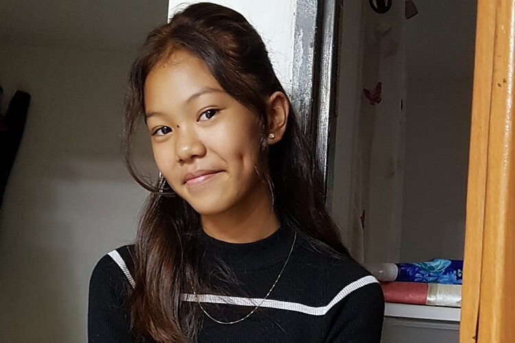 גנה מריאן, תלמידת גימנסיה הרצליה. עוד קורבן של מדיניות הגירוש הפושעת (צילום: באדיבות UCI)