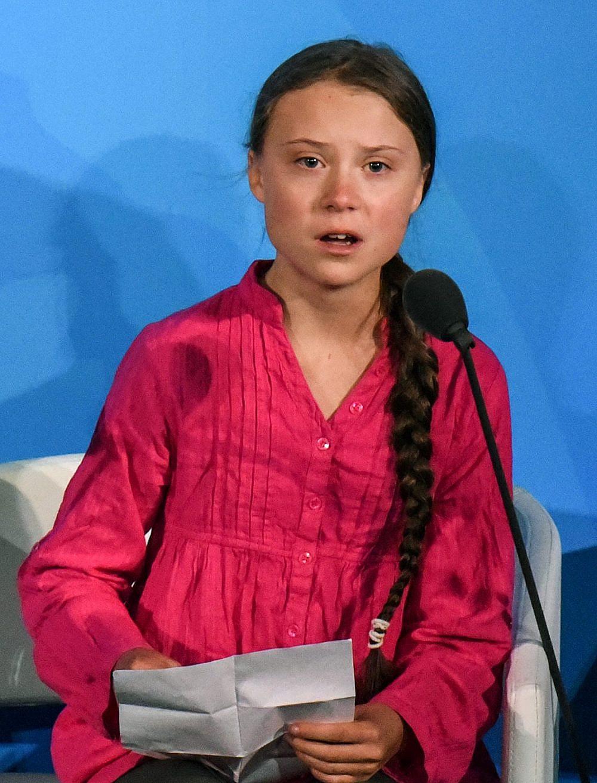"""""""קטניס אוורדין האמיתית"""". גרטה תונברג (צילום: Getty Images)"""