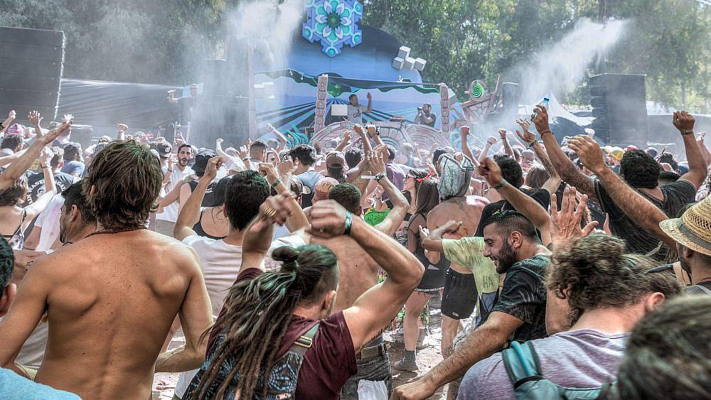 השנה הוא בוטל שלושה ימים לפני האירוע. פסטיבל דוף 2018 (צילום: חיים סולומון)