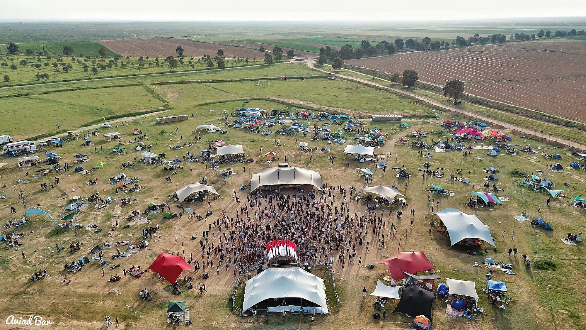 פסטיבל מוקשה (צילום: אביעד בר)
