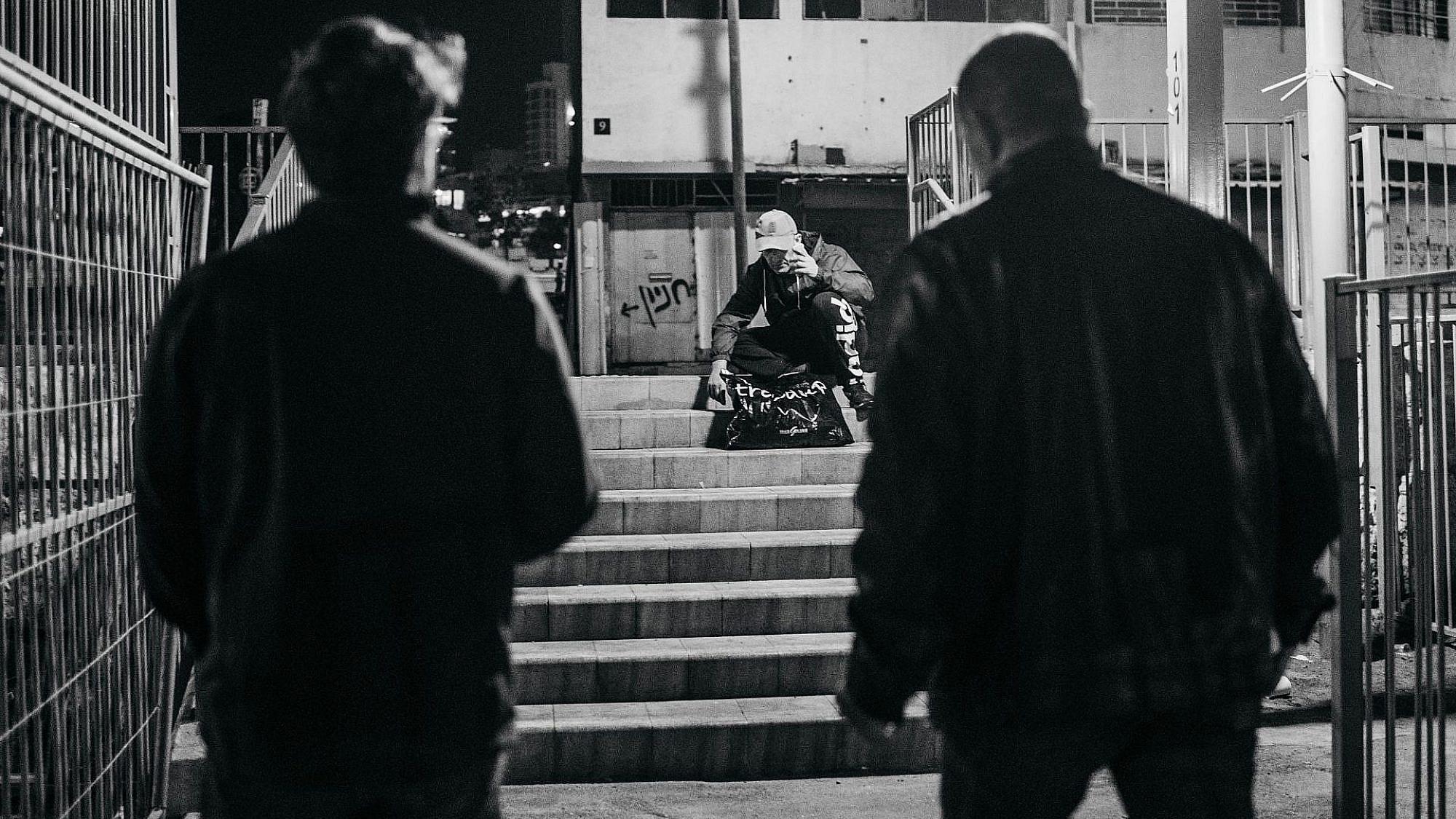 אבנר כבל בסיור (צילום: תמיר דוידוב)