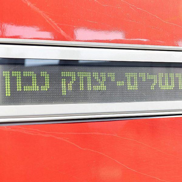 רכבת לירושלים (צילום: דין אהרוני רולנד)