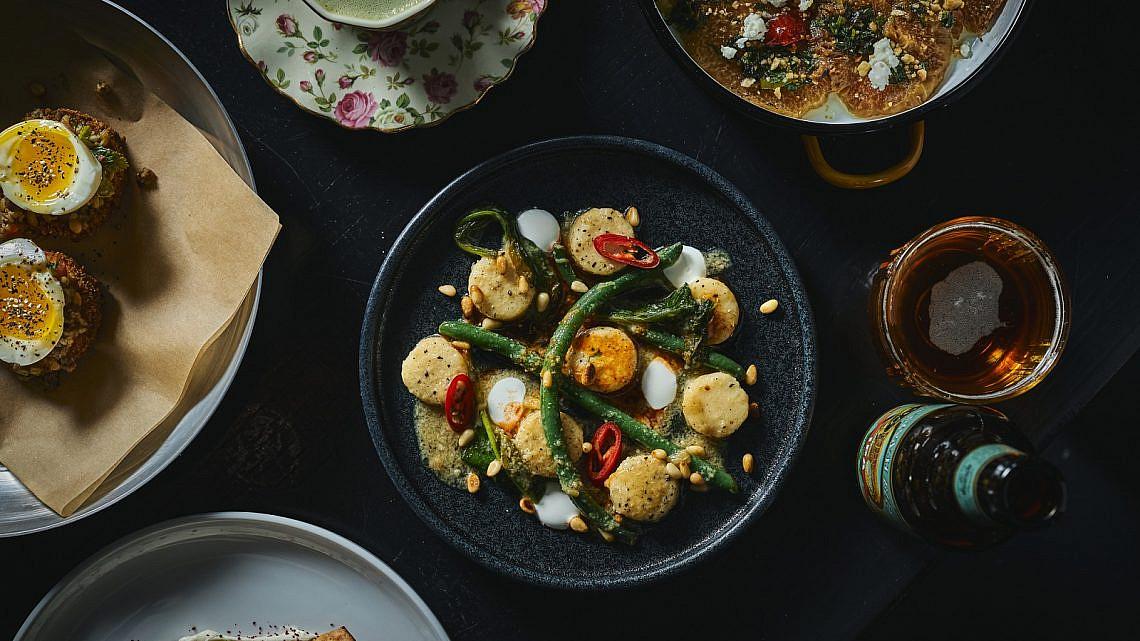 התאהבה בבישול כמו במוזיקה. מנות במסעדת מאנה (צילום: אמיר מנחם)