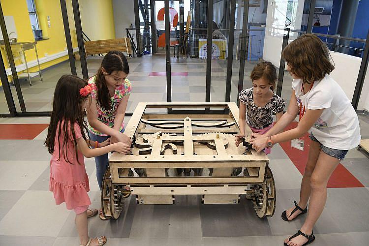 """מוזיאון המדע ע""""ש בלומפילד בירושלים צילום: יח""""צ"""