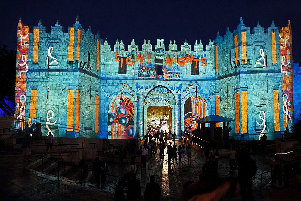פסטיבל האור בירושלים צילום: Shutterstock