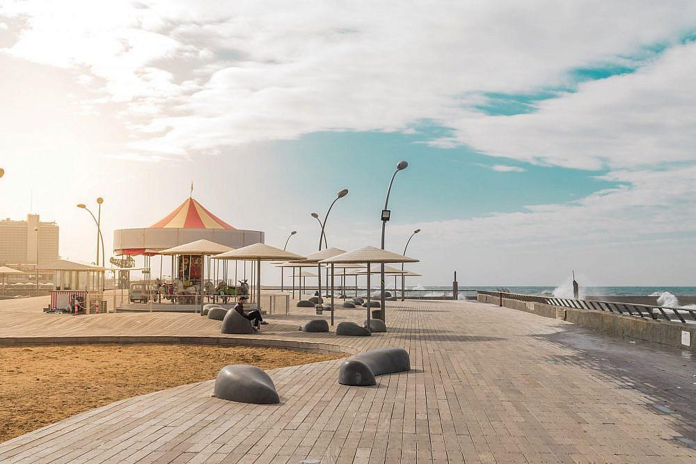 שמישהו יחזיר את הלווייתנים האלה לים. בולבוסים בנמל תל אביב (צילום: Shutterstock)
