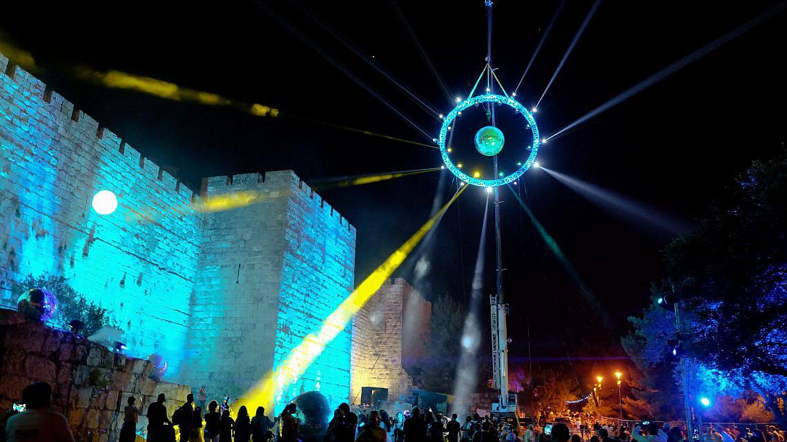 פסטיבל אור ירושלים, 2019. צילום: Shutterstock