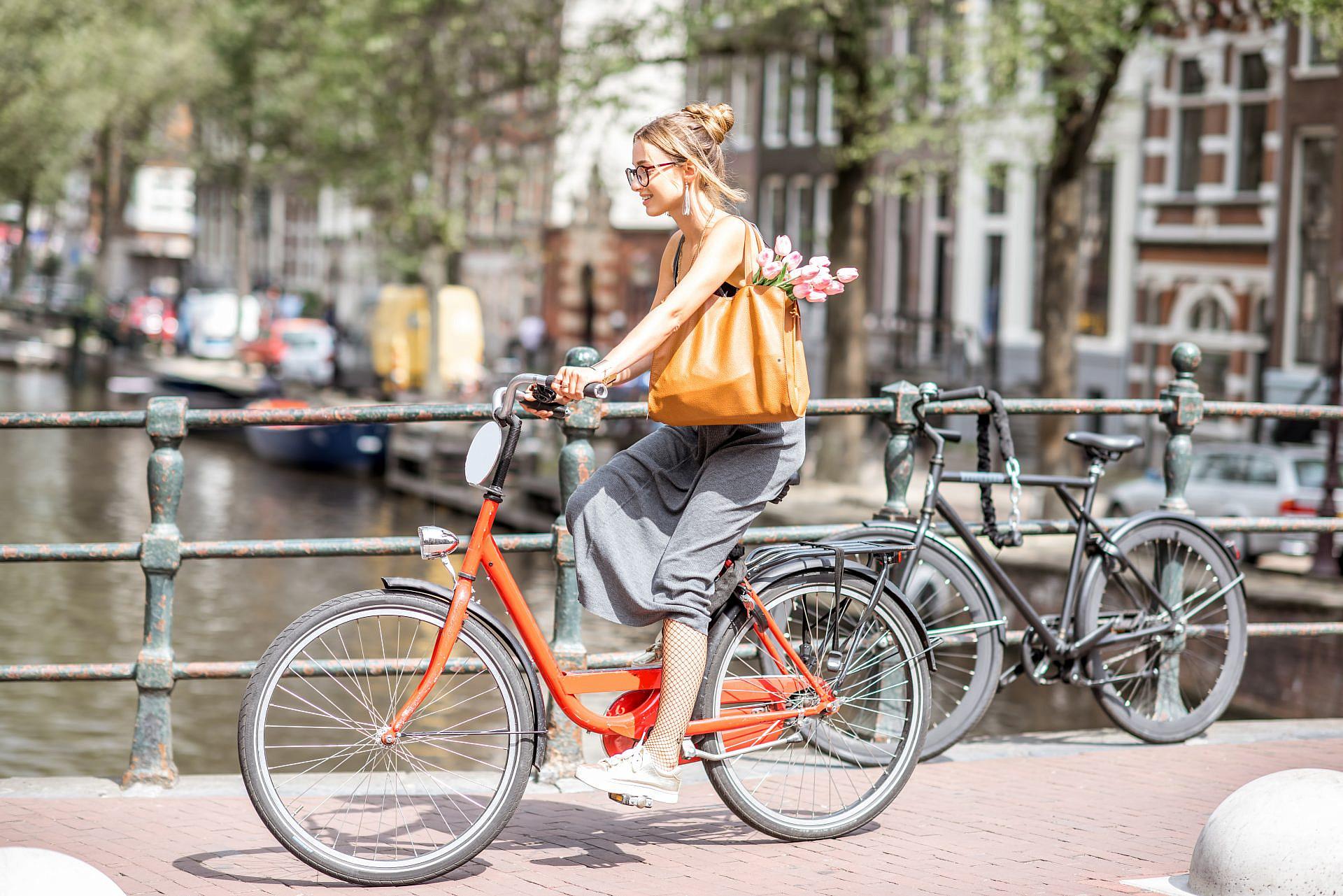 """אופני אבא – עכשיו גם לאמא. וההולנדים בכלל קוראים לזה """"אופני סבתא"""" (צילום: שאטרסטוק)"""
